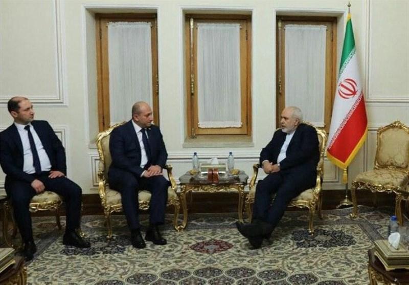 معاون وزیر امور خارجه گرجستان با ظریف دیدار کرد