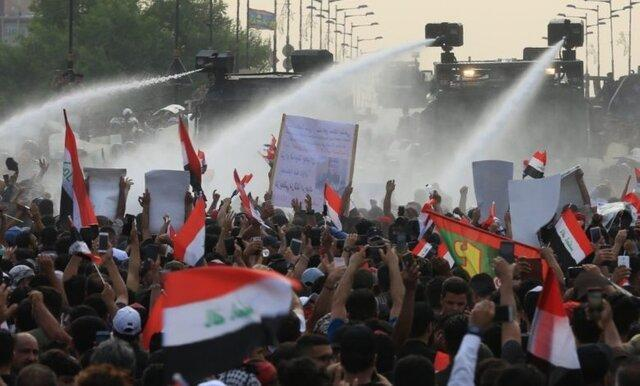 اعتراضات در بغداد ادامه دارد
