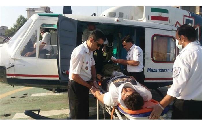 2 جوان در حادثه تصادف بزرگراه یاسینی مصدوم شدند