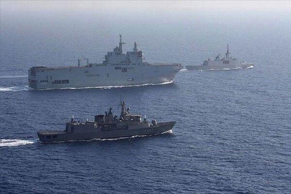 ترکیه در دریای مدیترانه رزمایش نظامی برگزار کرد