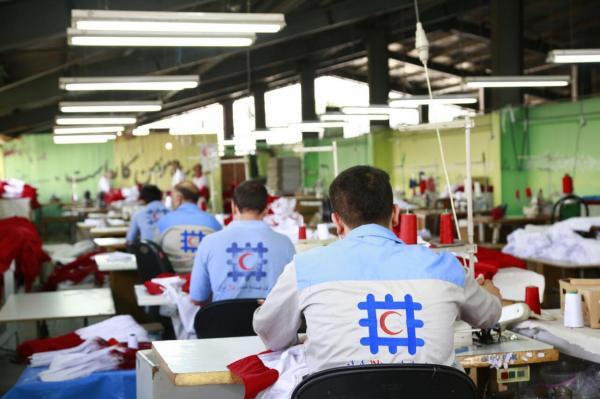 خبرنگاران فراوری 42 هزار پوشاک امدادی در هلال احمر برای شرایط اضطراری پیچیده